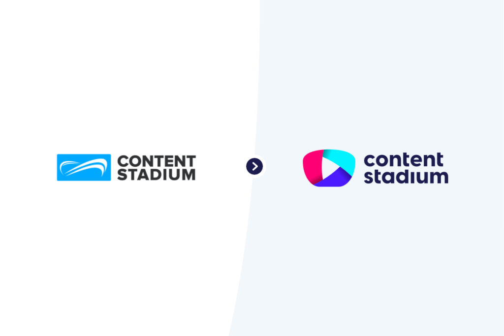 Content Stadium old and new logos