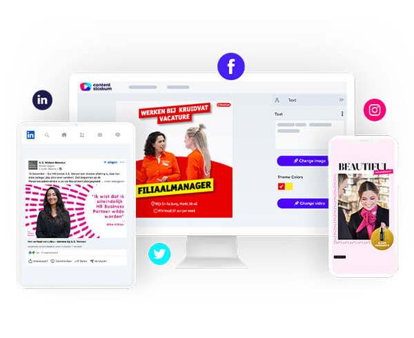 A.S. Watson employer branding content templates