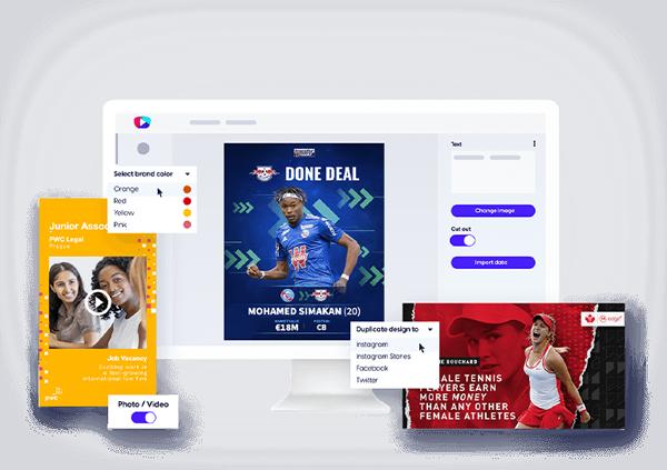 Content Stadium CREATE content creation tool
