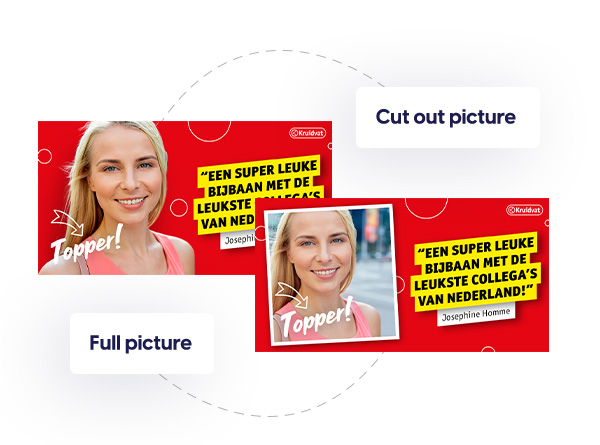 Employer branding social media templates design switch