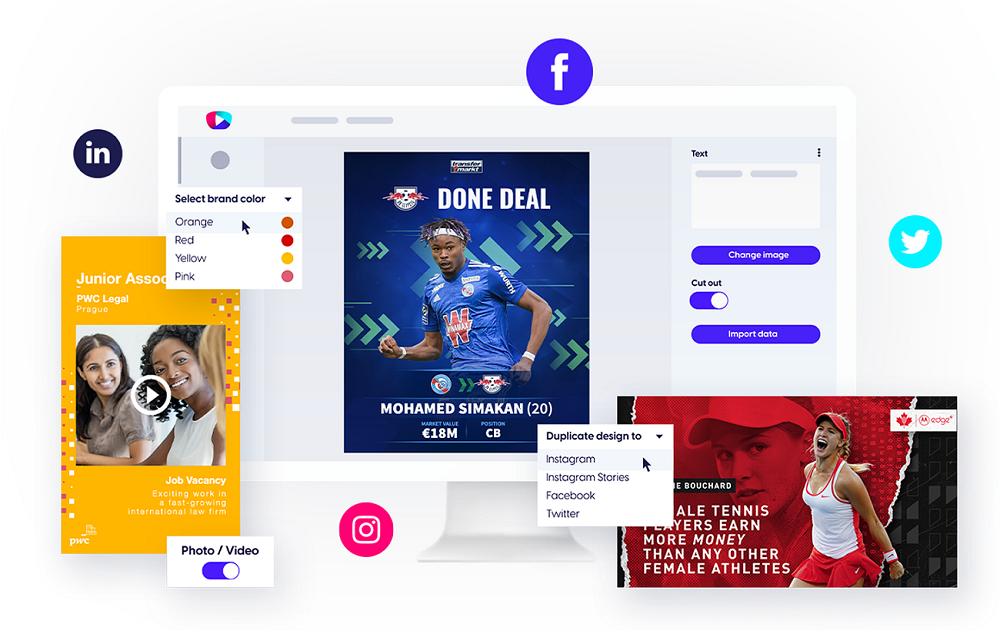 Content Stadium CREATE template-based content creation tool