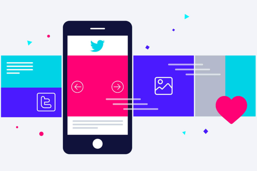 Twitter carousel examples